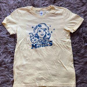 Maroon 5 tshirt